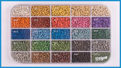 EPDM box (loose granules)